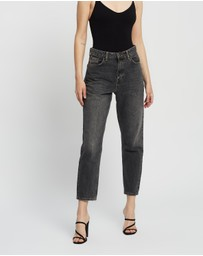 TOPSHOP - Washed Mom Jeans