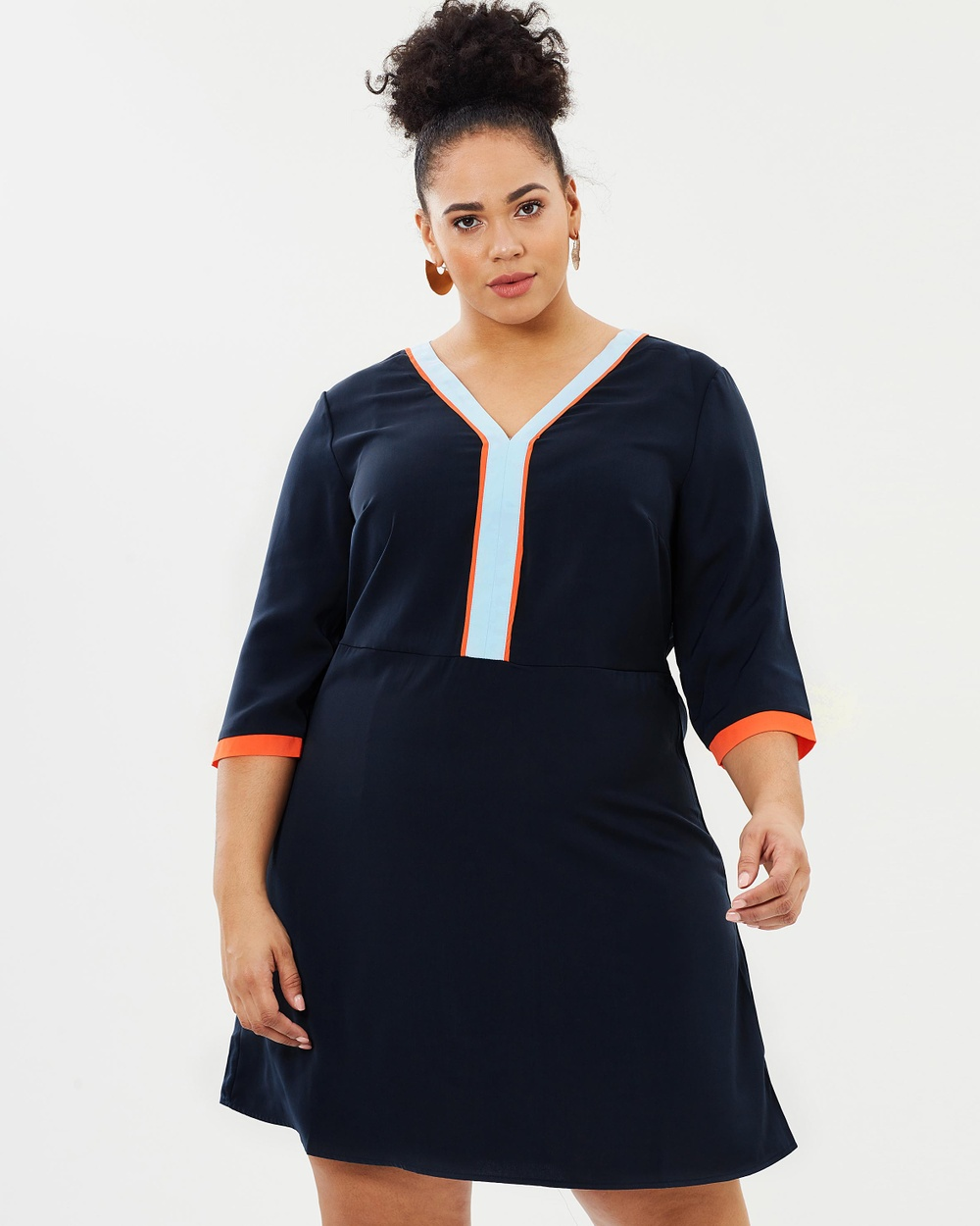 JUNAROSE Johanne Above Knee Dress Dresses Navy Blazer Johanne Above Knee Dress