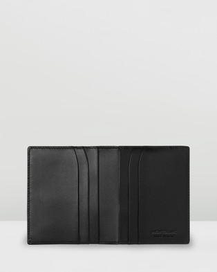 Montblanc Meisterst??ck Soft Grain Business Card Holder - All Stationery (Black)