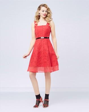 Alannah Hill – Lipstick Lover Dress Red