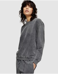 TOPSHOP - Acid Wash Sweatshirt