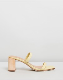 JAMES | SMITH - Sirenuse Strap Sandal Heels