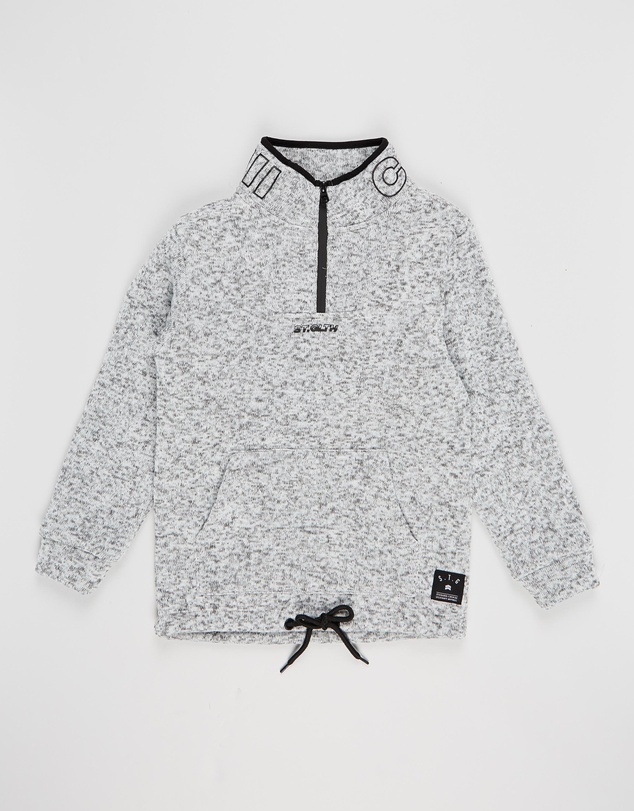 St Goliath - Haymes Quarter Zip Jumper - Teens
