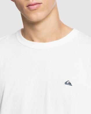 Quiksilver Mens Essentials Organic T Shirt - T-Shirts & Singlets (Antique White)