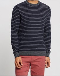Ben Sherman - Fine Stripe Knit