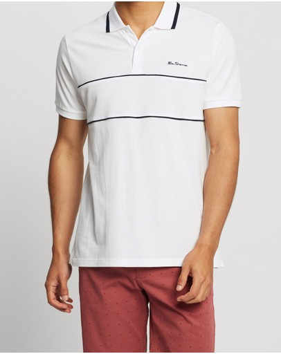 Ben Sherman - Piping Panel Polo