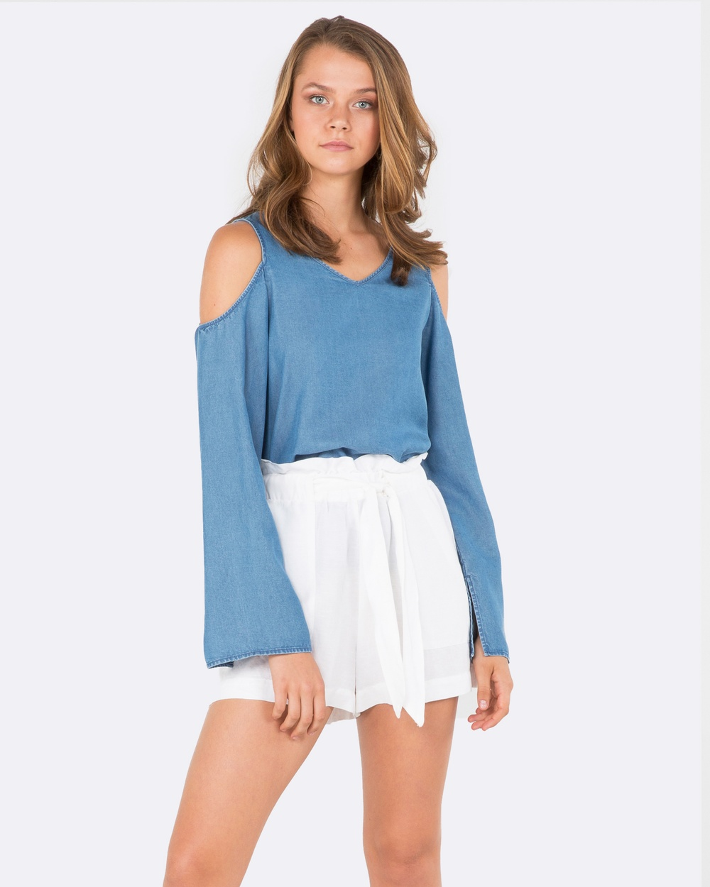 Amelius Notion Top Tops Chambray Notion Top