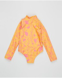 Olga Valentine - Longsleeve Zip One-Piece - Kids