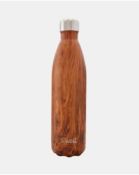 S'well - Insulated Bottle Wood Collection 750ml Teakwood