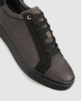 Airflex Venture Leather Lifestyle Shoes - Casual Shoes (Black)