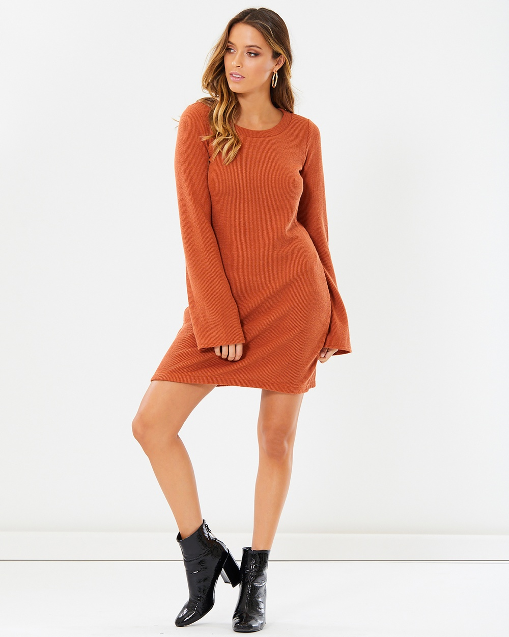 Calli Valentina Dress Dresses Rust Valentina Dress