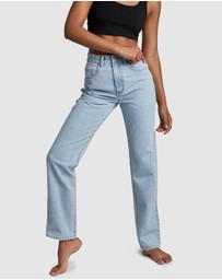 Cotton On - Long Straight Leg Jeans