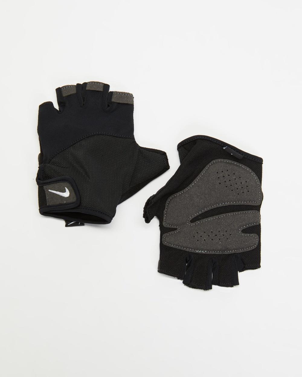 Nike Gym Elemental Fitness Gloves Women's Training Black & White
