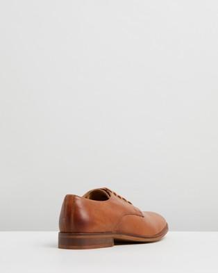 Double Oak Mills Baxt Leather Derby - Dress Shoes (Tan)