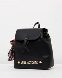 LOVE MOSCHINO - Faux Leather Backpack