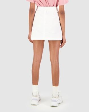 Huffer Rise Skirt - Skirts (White)