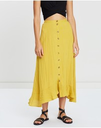 Otto Mode - Clear Cut Frill Maxi Skirt