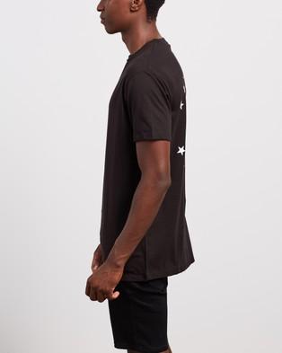 Nena & Pasadena Alpha Relaxed Tee - T-Shirts & Singlets (Jet Black)