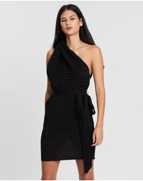 BY JOHNNY. - Knot Now One-Shoulder Mini Dress