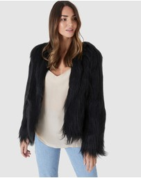 Everly Collective - Marmont Faux Fur Jacket