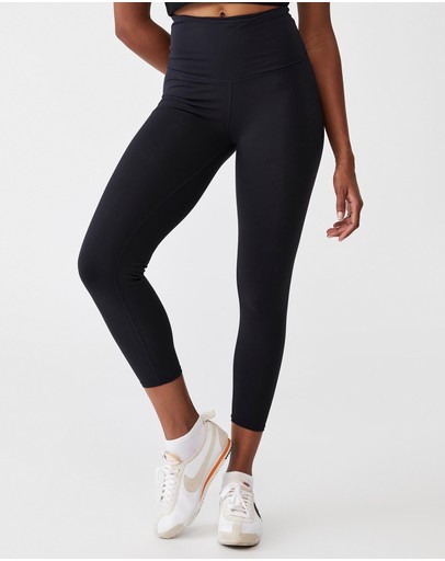 Cotton On Body Active High-waisted Core 7/8 Tights Navy