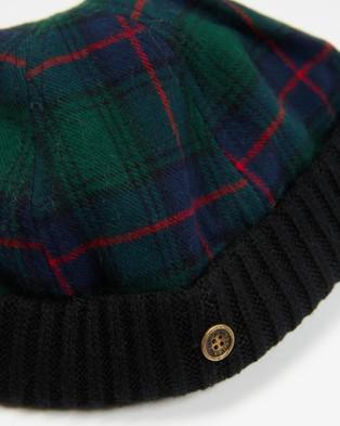 Fallen Broken Street - The New Yorker Hats (Green Tartan)