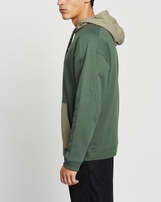 adidas Originals R.Y.V. Utility Hoodie - Hoodies (Green Oxide & Clay)