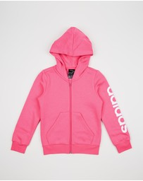 adidas Performance - Essentials Linear Full-Zip Hoodie - Kids-Teen