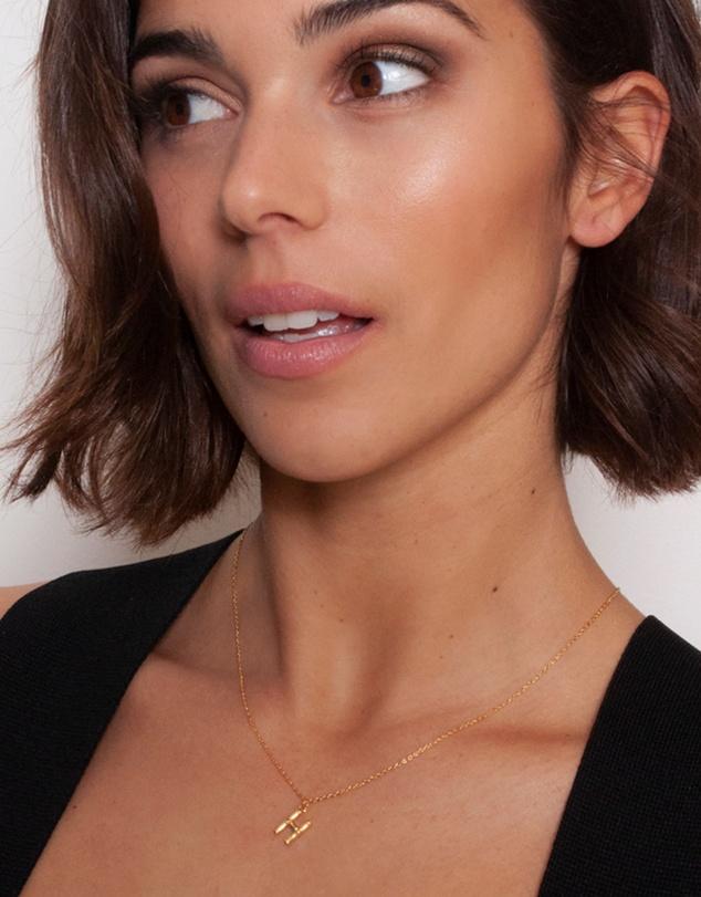 Women Letter H Necklace