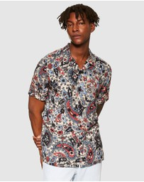 dae0e04b6a4d Printed Shirts | Printed Shirts Online NZ | Buy Mens Printed Shirt New  Zealand |- THE ICONIC