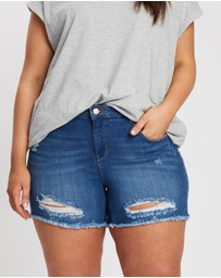 ONLY CARMAKOMA - Pop Push-Up Shorts