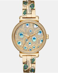 Michael Kors - Sofie Gold Chronograph Watch