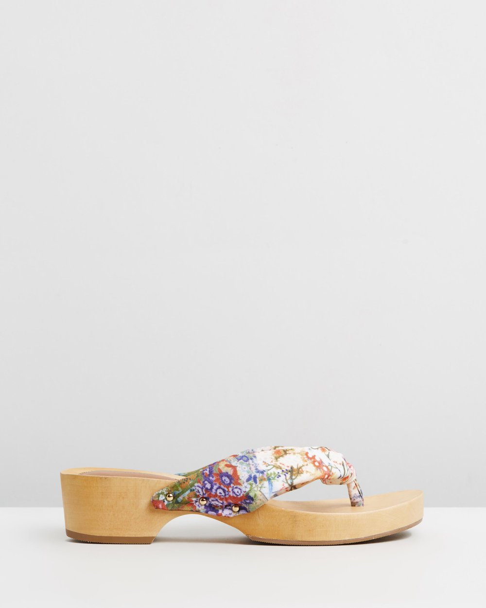 2ed560c0e3a Japanese Wooden Clogs by Camilla Online
