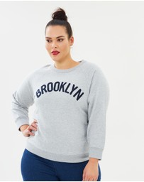 J.Crew Curvy - Brooklyn Sweatshirt