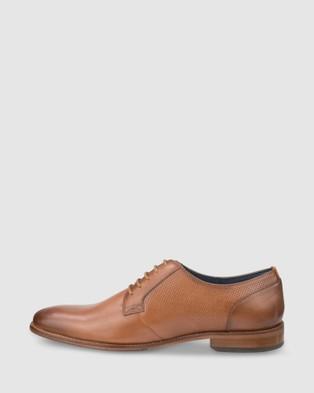 Florsheim Flex Perf - Dress Shoes (Cognac)