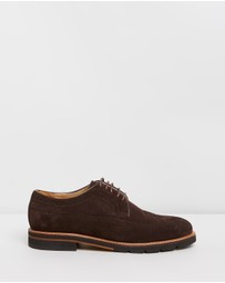 Double Oak Mills - Paige Suede Brogues