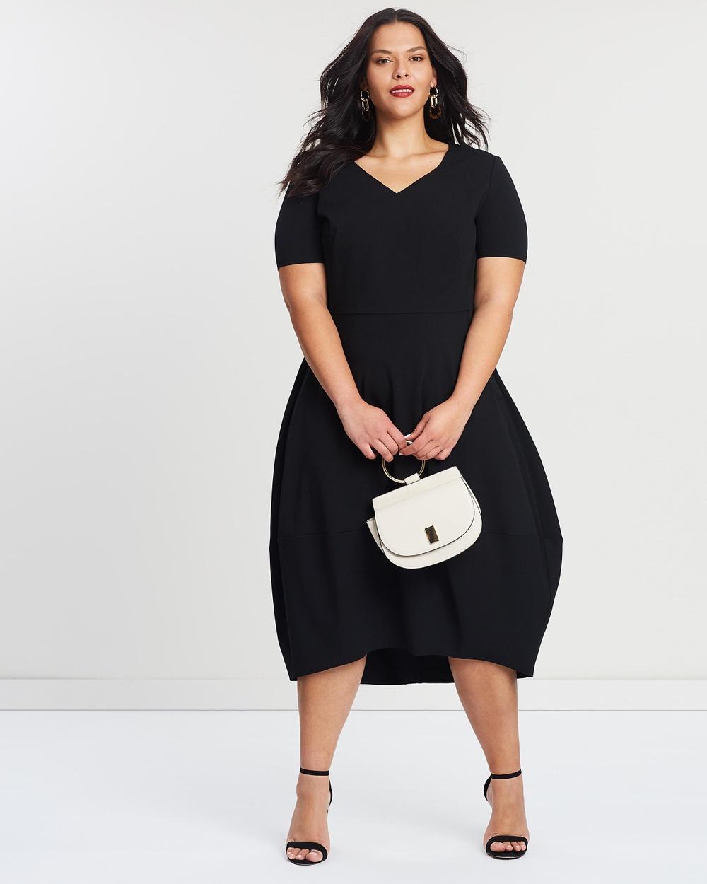 Persona by M.Rinaldi Black Ode Dress