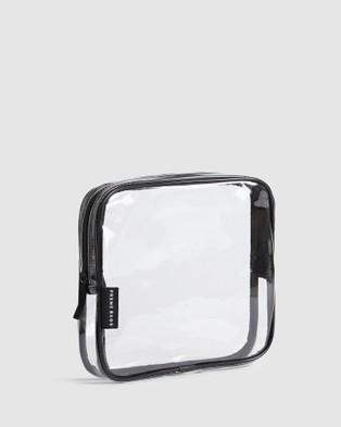 Prene Organiser Case Set - Toiletry Bags (Clear)