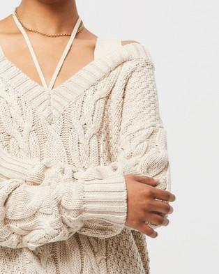 WNTRMSE Vela Knit Sweater Sweats (Cream)