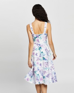 Review Lilac Breeze Dress - Printed Dresses (Multi)