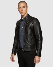 Oxford - Vinnie Lambskin Leather Jacket