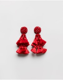 BaubleBar - Amaranthus Drop Earrings