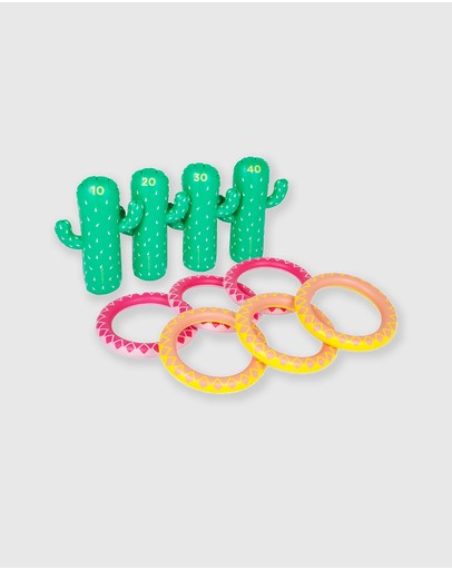Sunnylife - Inflatable Ring Toss Set Cactus