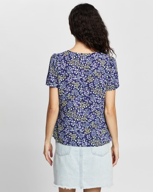 Review Berry Picking Top - Tops (Blueberry Multi)
