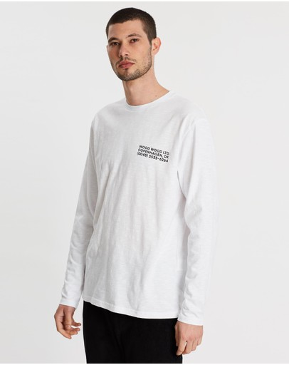 Wood Wood - Peter Long Sleeve Tee