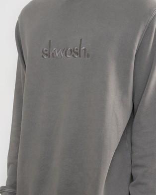 Skwosh Charcoal Skwosh Club Sweater - Sweats (grey)