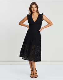 ICONIC EXCLUSIVE - Lace Maxi Dress
