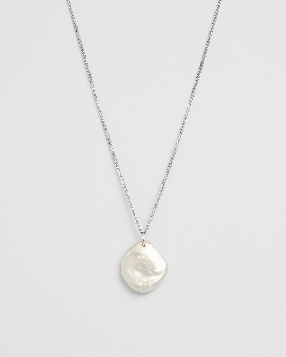 Kirstin Ash Keishi Pearl Necklace Jewellery Silver