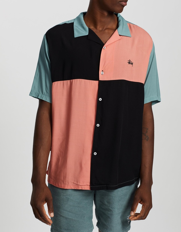 Stussy - Solid Panel SS Shirt