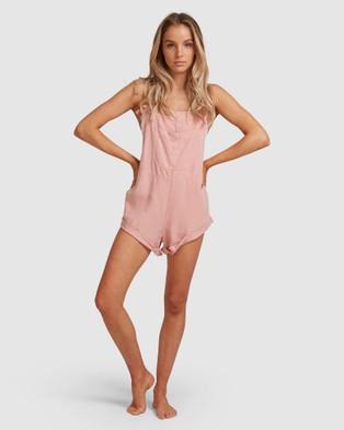 Billabong Wild Pursuit Jumpsuit - All onesies (MELLOW ROSE)